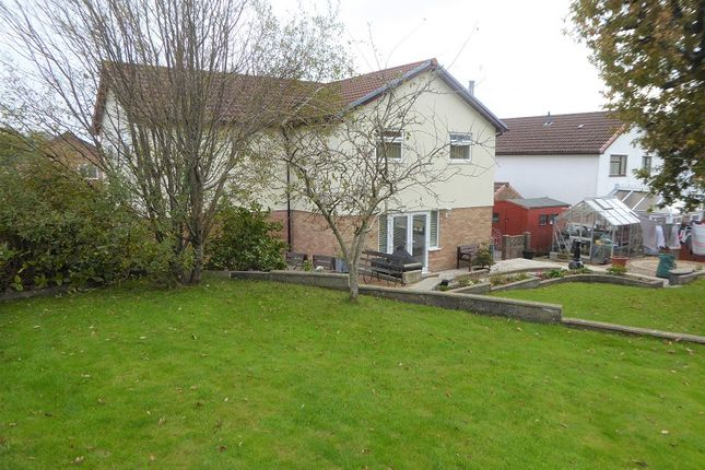 4 bed detached house for sale in Angelton Green, Pen-Y-Fai, Bridgend County. CF31