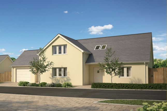 Thumbnail Detached house for sale in Sparnon Gate, Redruth, Cornwall
