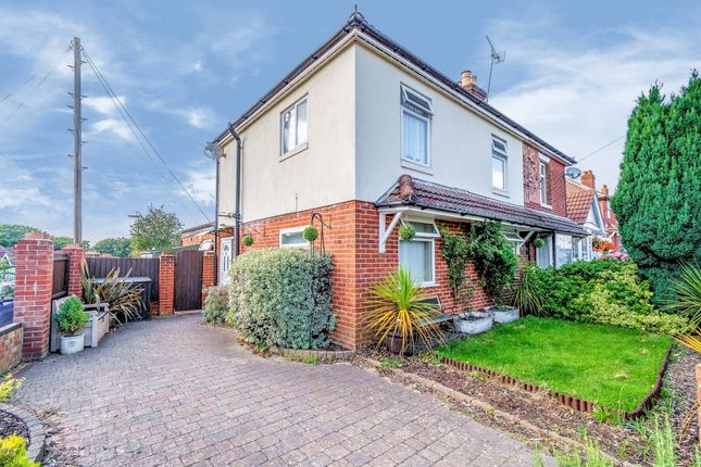 Thumbnail Semi-detached house for sale in St. Monica Road, Southampton