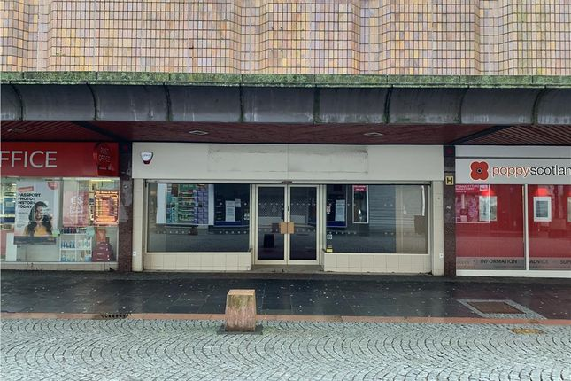 Thumbnail Retail premises for sale in 42 King Street, Kilmarnock