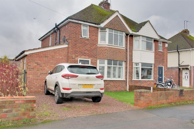 Thumbnail Semi-detached house for sale in Boverton Drive, Brockworth, Gloucester