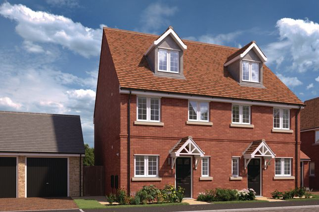"""Thumbnail Semi-detached house for sale in """"Ickhurst"""" at Chaloner Way, Newmarket"""