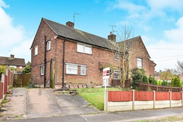 Thumbnail Semi-detached house for sale in Eastfield Drive, South Normanton, Alfreton, Derbyshire