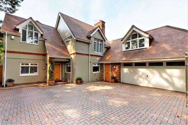 Thumbnail Detached house for sale in Lilliput Road, Lilliput, Poole
