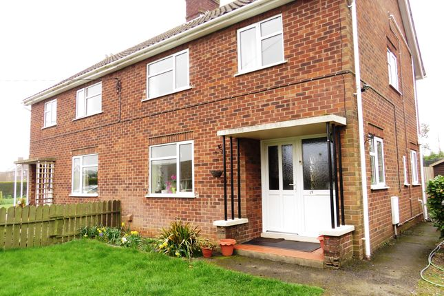 Thumbnail Semi-detached house to rent in Roxholme Road, Leasingham, Sleaford
