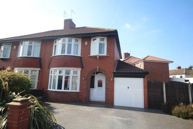 Semi-detached house for sale in Manor Road, Alkrington, Middleton