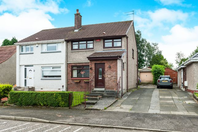 Thumbnail Semi-detached house for sale in Lomond Drive, Bishopbriggs, Glasgow