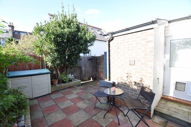 Garden of Rylstone Road, Eastbourne BN24