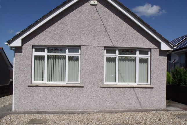 Thumbnail Detached bungalow to rent in Pwllygath Street, Kenfig Hill, Bridgend, Mid Glamorgan