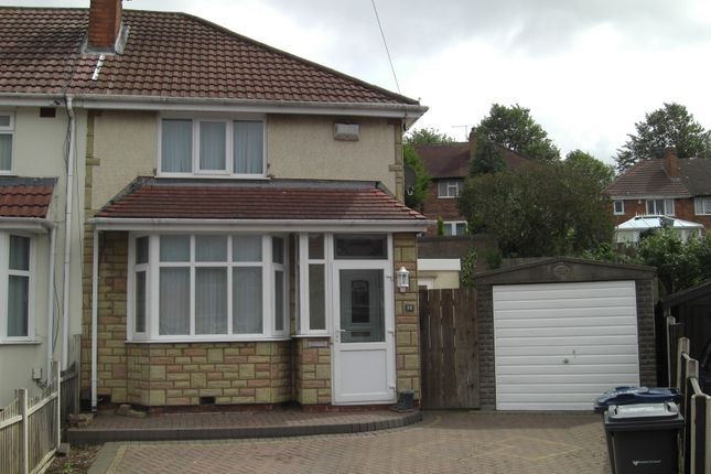Thumbnail Semi-detached house to rent in Knebworth Close, Great Barr