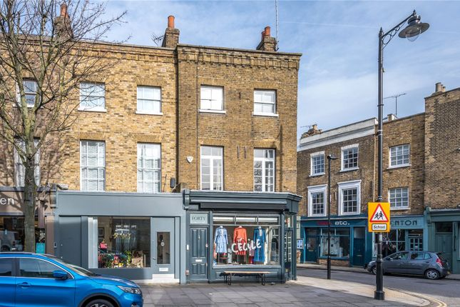 Front Exterior of Cross Street, Islington, London N1