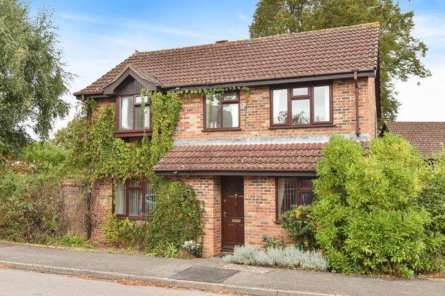 Thumbnail Detached house for sale in Herridge Close, Bramley, Tadley