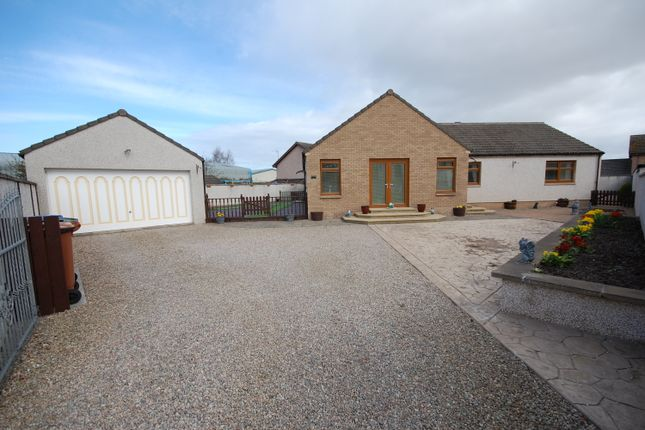 Thumbnail Detached bungalow for sale in Springfield Gardens, Elgin