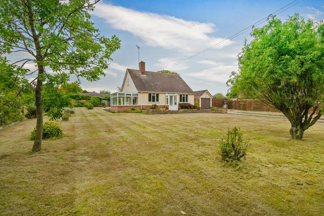 Thumbnail Detached bungalow for sale in Lower Road, Westerfield, Ipswich