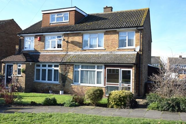 Thumbnail Semi-detached house to rent in Eskdale Close, Dartford