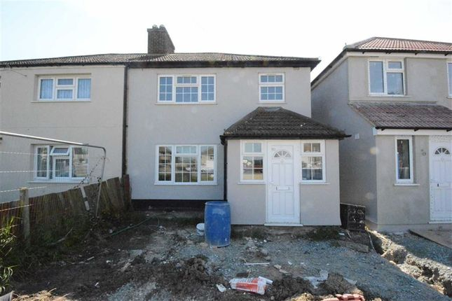 Thumbnail Semi-detached house to rent in Feenan Highway, Tilbury, Essex