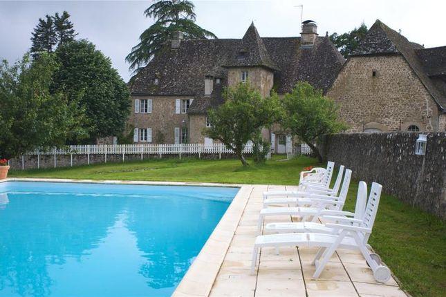 Thumbnail Detached house for sale in 17th Century Templar Chateau, Saint-Privat, Coreeze