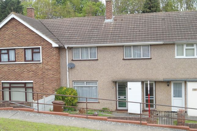 Thumbnail Terraced house to rent in Bligh Way, Strood