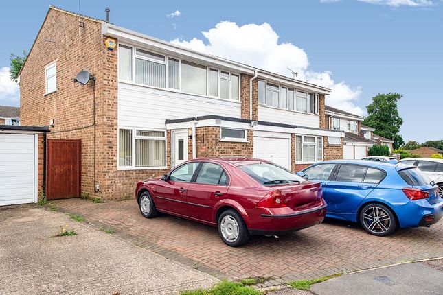 Thumbnail Semi-detached house for sale in Bronte Crescent, Hemel Hempstead