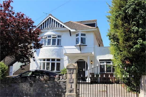 Thumbnail Detached house for sale in Manor Road, Weston-Super-Mare, North Somerset.