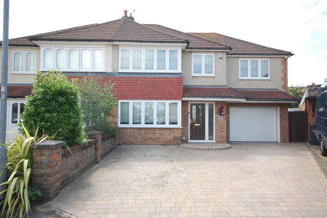 Thumbnail Semi-detached house for sale in Wesley Close, Goffs Oak, Waltham Cross