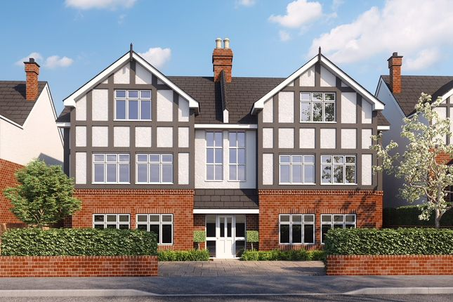 Thumbnail Flat for sale in Grasmere Road, Purley