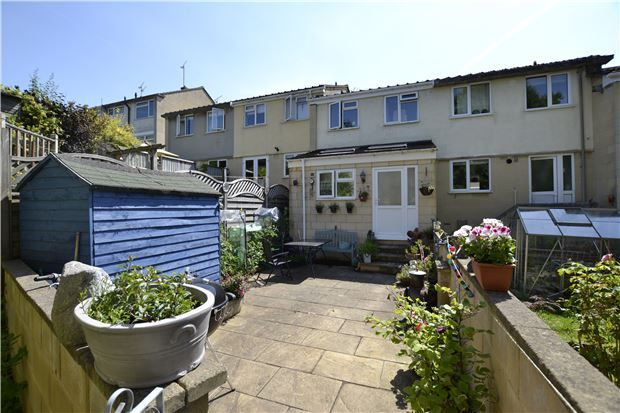 Thumbnail Terraced house for sale in Harcourt Gardens, Bath