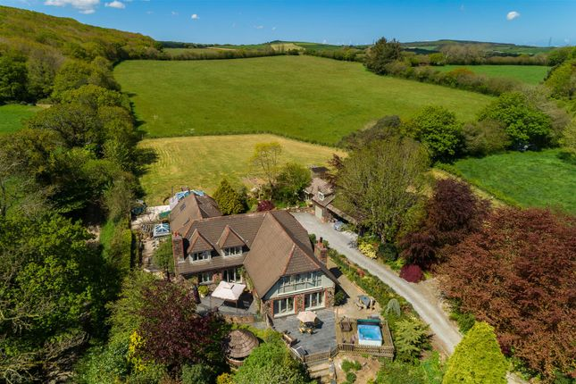 Detached house for sale in Nanstallon, Camel Valley, North Cornwall