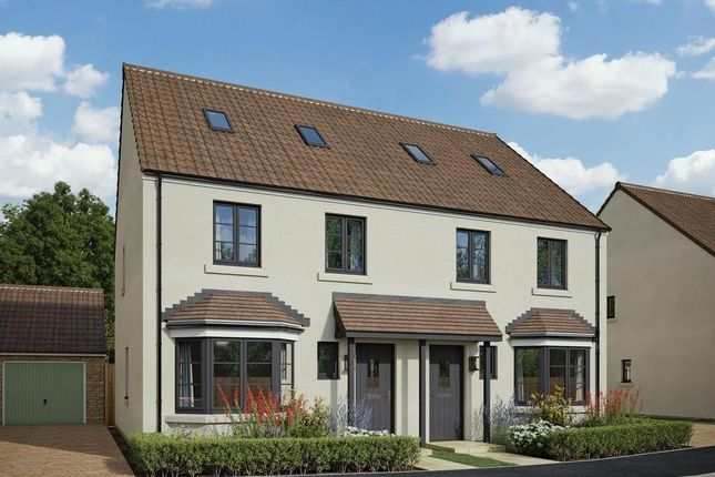 Thumbnail Semi-detached house for sale in Redwing Gate, Cam, Dursley