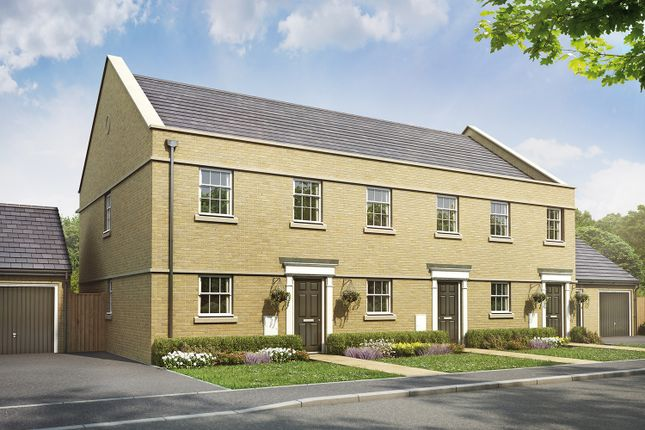 Thumbnail Terraced house for sale in Livingstone Road (Off Lyveden Way), Oakley Vale, Corby, Northamptonshire