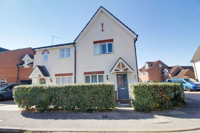 Thumbnail End terrace house to rent in Lomond Way, Stevenage