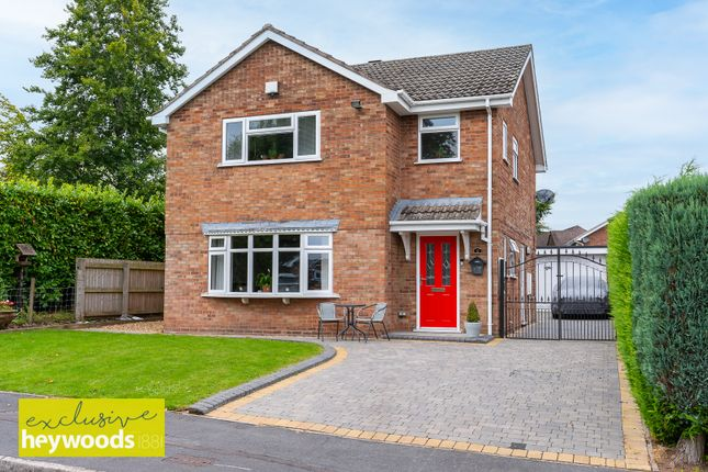 Thumbnail Detached house for sale in Hinckley Grove, Stoke-On-Trent