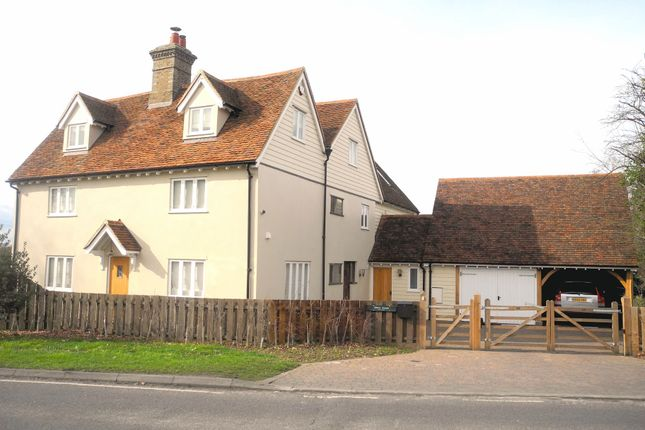 Thumbnail Detached house to rent in Braintree Road, Little Waltham