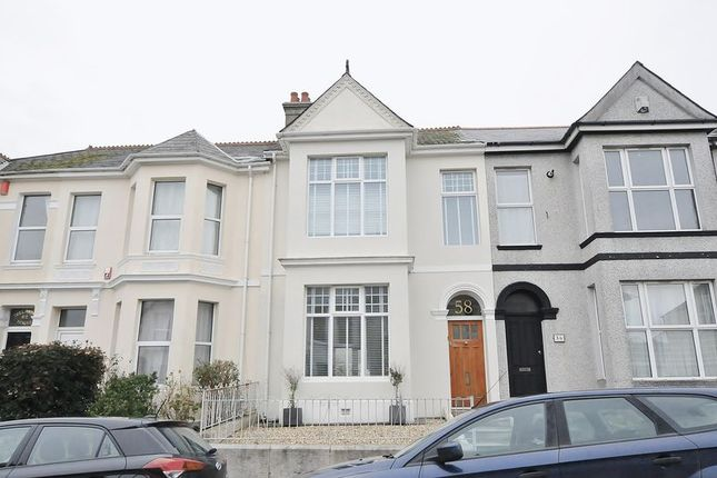 Thumbnail Terraced house for sale in Trelawney Road, Peverell, Plymouth