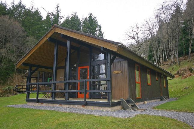 Thumbnail Lodge for sale in Redburn, Loch Tay Highland Lodges, Milton Morenish, Killin