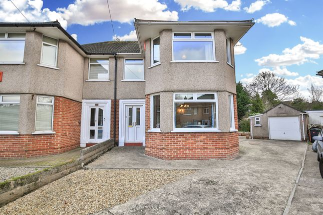 Thumbnail Semi-detached house for sale in Mavis Grove, Rhiwbina, Cardiff