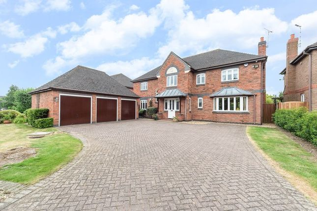 Thumbnail Detached house for sale in Brook Lane, Loughborough