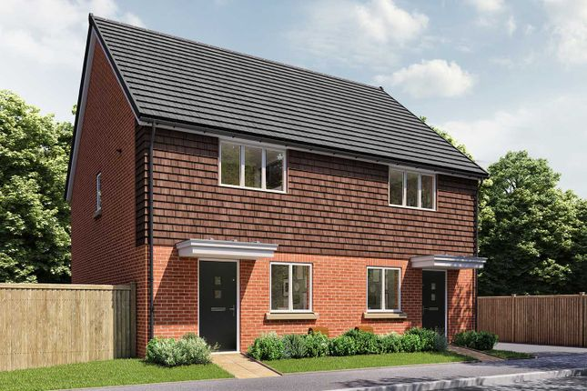 """Thumbnail End terrace house for sale in """"The Cartwright"""" at Fox Hill, Haywards Heath"""
