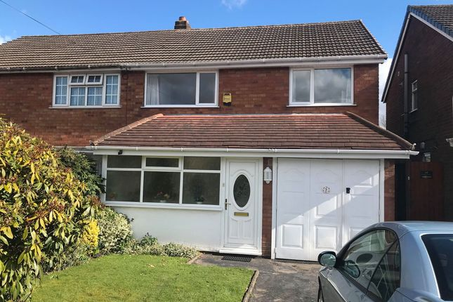 3 bed semi-detached house for sale in Tudor Road, Burntwood, Staffordshire