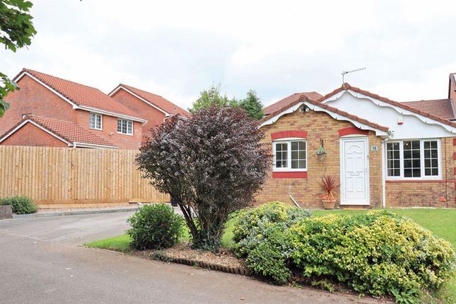 Thumbnail Detached bungalow for sale in Cae Ysgubor, Cefn Hengoed, Hengoed