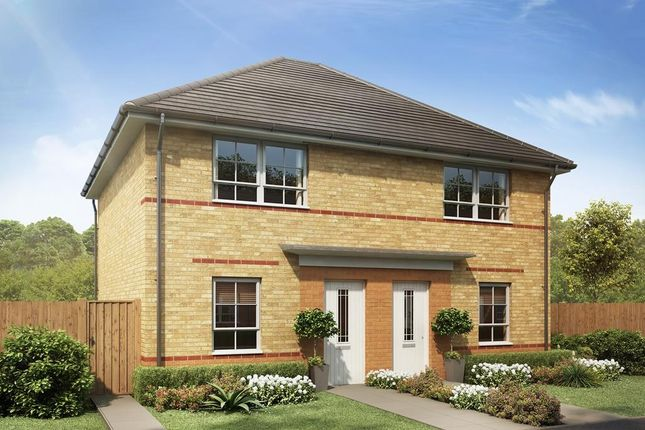 "Thumbnail Semi-detached house for sale in ""Kenley"" at Rosedale, Spennymoor"