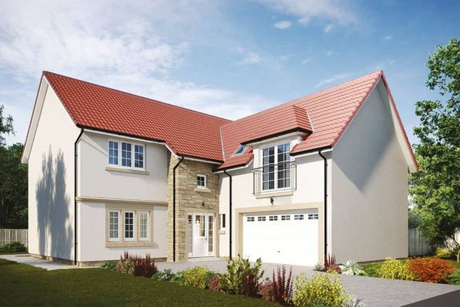 "Thumbnail Detached house for sale in ""Melville"" at Penicuik Road, Roslin"