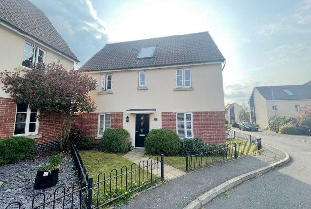 Thumbnail Detached house for sale in Tiller Way, Pineham Lock, Northampton