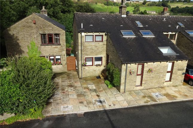 Thumbnail End terrace house for sale in Sun Street, Haworth