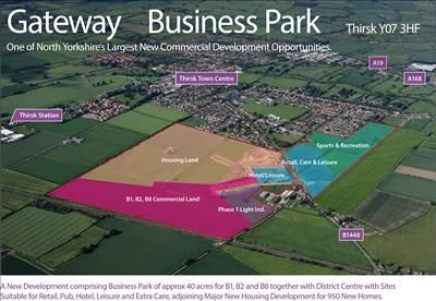 Thumbnail Retail premises to let in Gateway Business Park, Sowerby Gateway, Thirsk, North Yorkshire