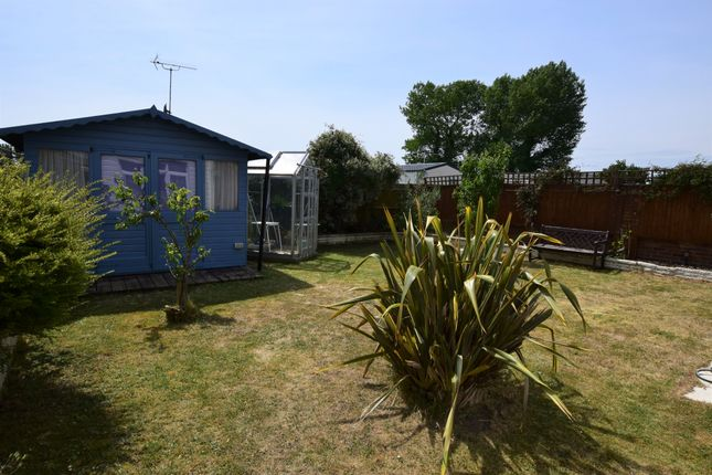 Rear Garden of Timberlaine Road, Pevensey Bay BN24