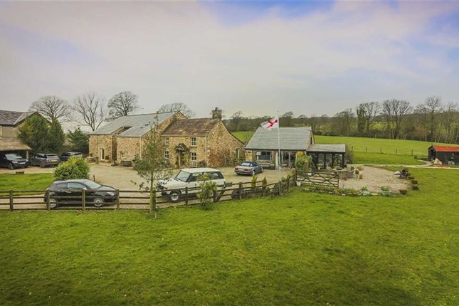 Thumbnail Farmhouse for sale in Talbot Bridge, Clitheroe, Lancashire