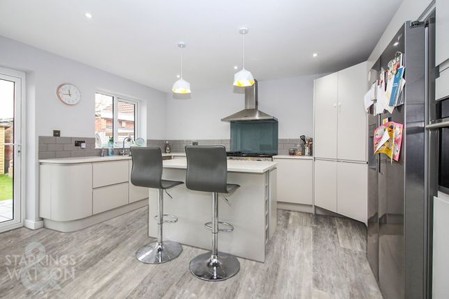 Thumbnail Detached bungalow for sale in Lambert Road, Sprowston, Norwich