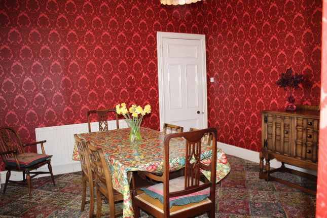 Dining Room of Cliff Terrace, Buckie AB56
