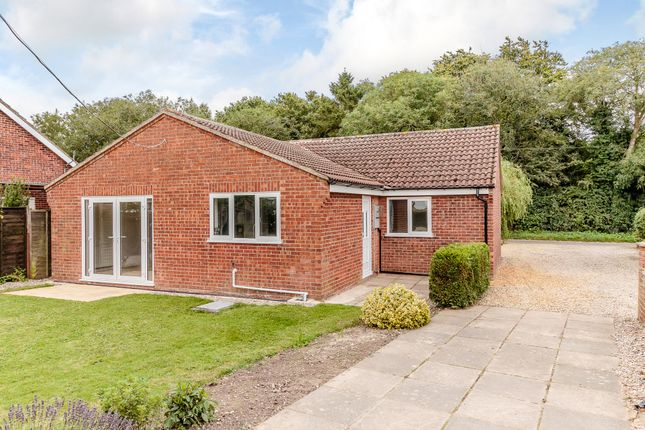 Thumbnail Detached bungalow for sale in Melton Road, Hindolveston, Dereham